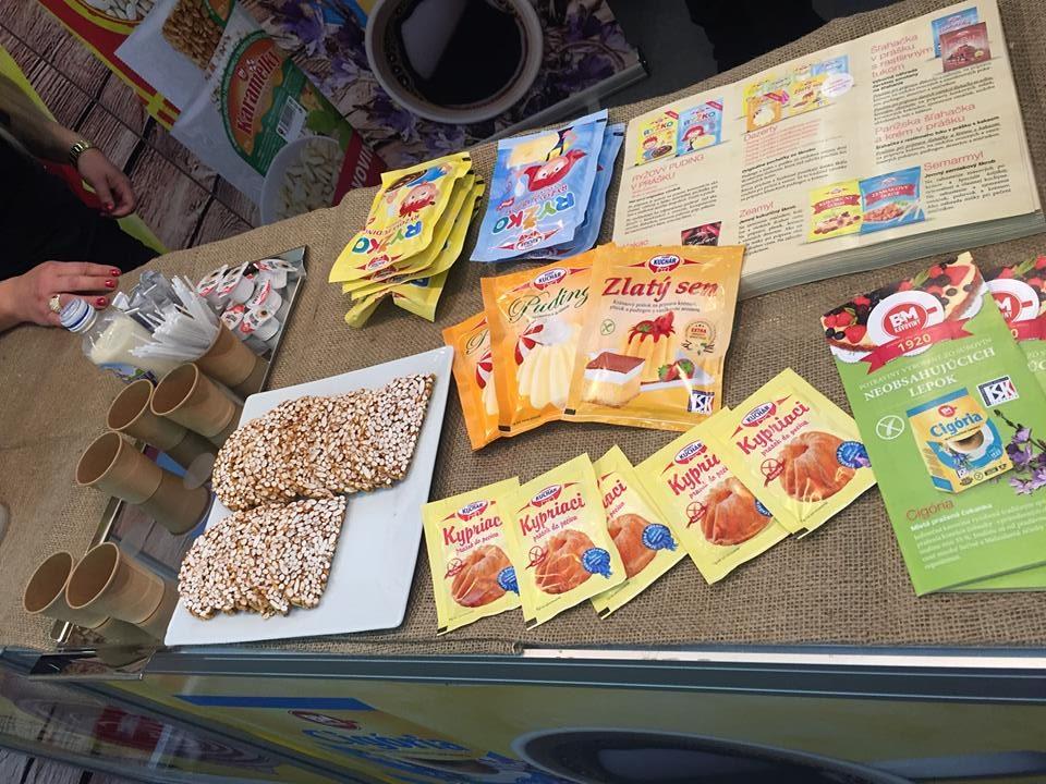 B.M. Kávoviny Dobrý kuchár zahŕňa tradičné prísady na pečenie, Burizony