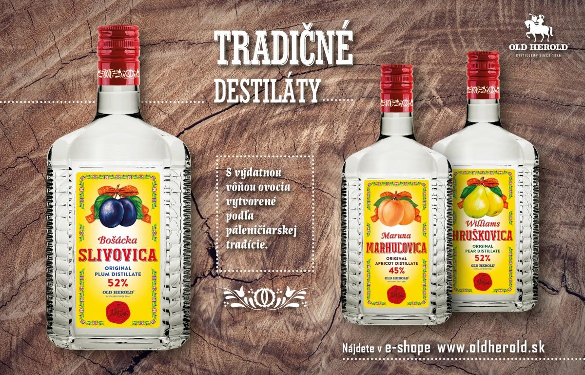 Trenčiansky OLD HEROLD a jeho tradičné destiláty, Borovička, Považský repák