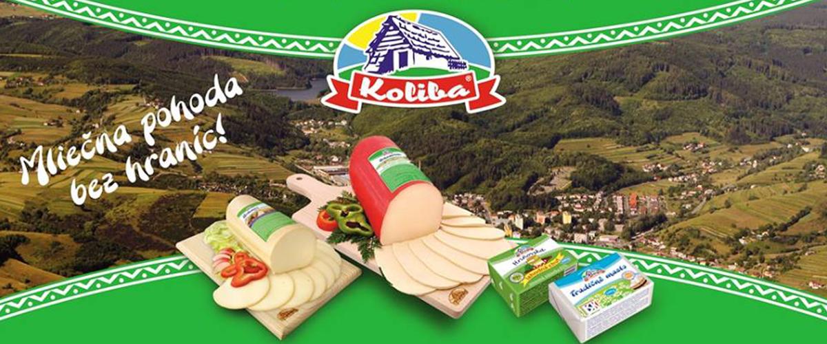 Hriňovská mliekareň KOLIBA, produkuje kvalitné slovenské tvrdé syry, maslo