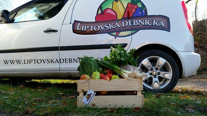 Liptovská debnička, Distribúcia čerstvých, kvalitných potravín v rámci Liptova