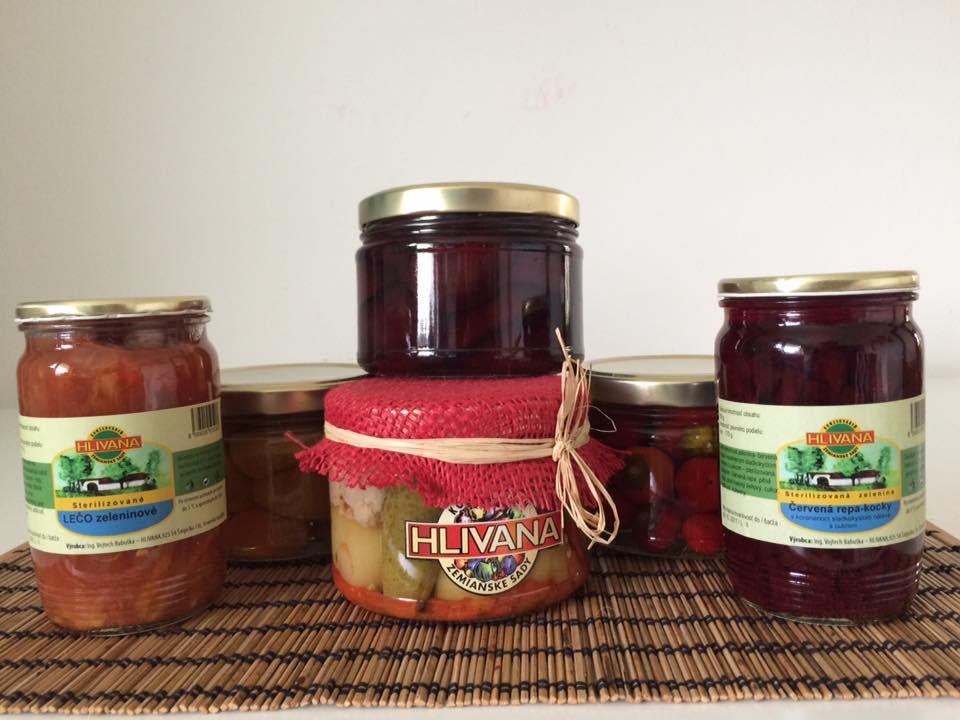 Hlivana - konzerváreň ovocia a zeleniny, produkcia kompótov a sterilizovanej zeleniny