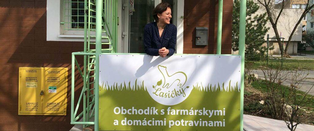 Lasičky Obchodík s farmárskymi a domácimi potravinami Senica