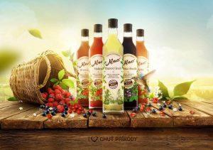 ALMO je Slovenská značka sirupov, ktoré sú výnimočné svojou kvalitou avysokým ovocným podielom.