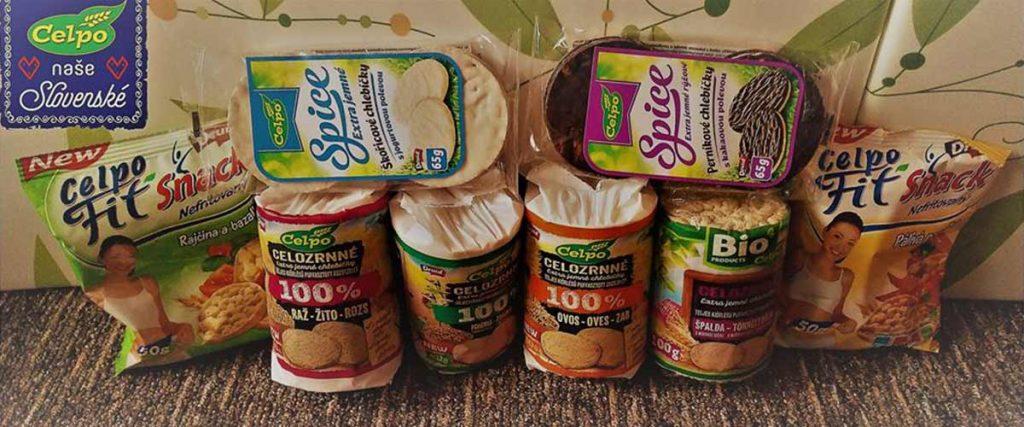 CELPO - CELozrnné POtraviny, celozrnné chlebíky,