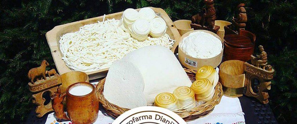 Agrofarma Dianiška Tisovec, výroba ovčích syrov a mliečnych výrobkov