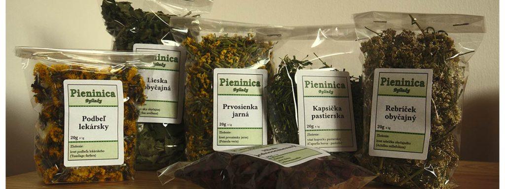 Sušené bylinky Pieninica sú čisto prírodnými produktami - sypaný čaj