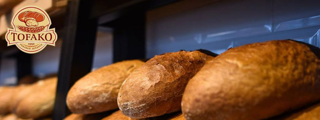 Pekáreň TOFAKO, produkuje široký sortiment kvalitných výrobkov od rôznych druhov chleba, sladkého a slaného pečiva