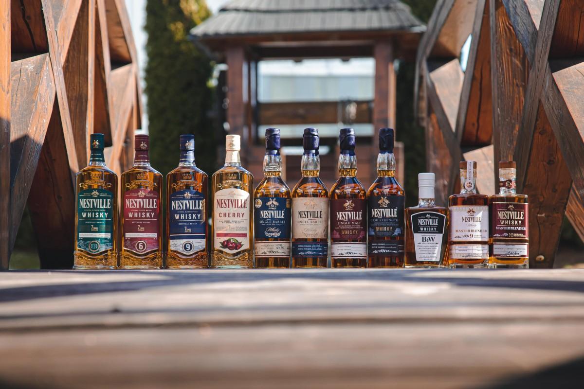 Prvá slovenská Nestville Whisky