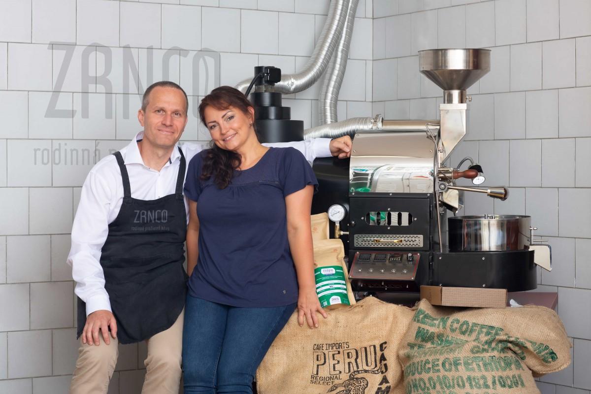 ZRNCO – remeselná rodinná pražiareň kávy