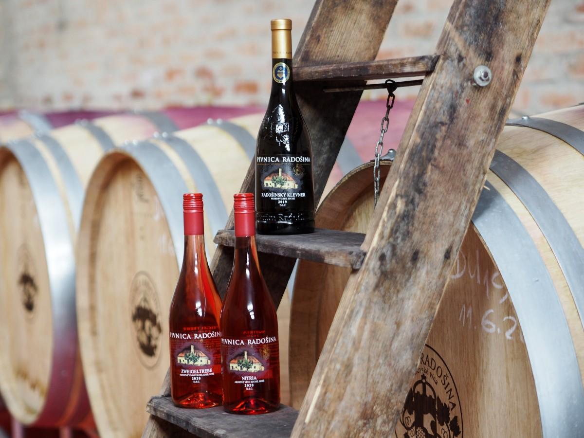 Kráľovské vína Pivnica Radošina